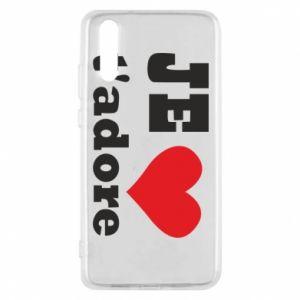 Etui na Huawei P20 Je t'adore