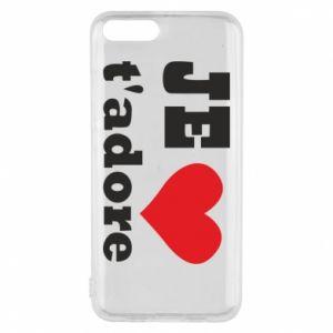 Etui na Xiaomi Mi6 Je t'adore