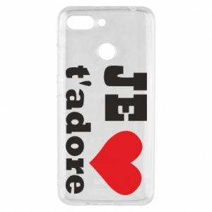 Etui na Xiaomi Redmi 6 Je t'adore