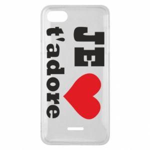 Etui na Xiaomi Redmi 6A Je t'adore