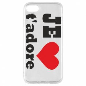 Etui na iPhone 7 Je t'adore