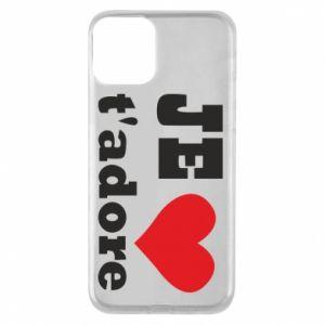 Etui na iPhone 11 Je t'adore