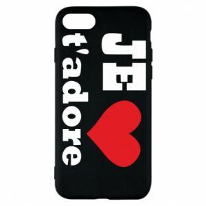 Etui na iPhone 8 Je t'adore
