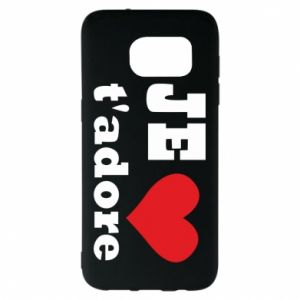 Etui na Samsung S7 EDGE Je t'adore