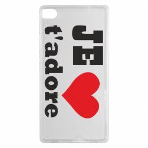 Etui na Huawei P8 Je t'adore