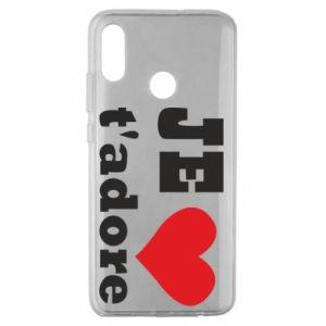 Etui na Huawei Honor 10 Lite Je t'adore
