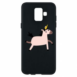 Samsung A6 2018 Case Golden Horn Unicorn