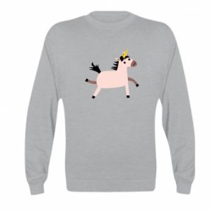 Kid's sweatshirt Golden Horn Unicorn