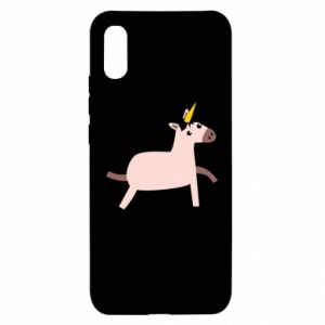 Xiaomi Redmi 9a Case Golden Horn Unicorn
