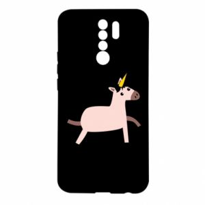 Xiaomi Redmi 9 Case Golden Horn Unicorn