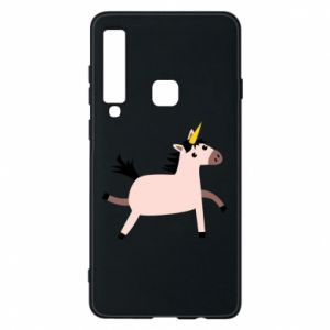 Samsung A9 2018 Case Golden Horn Unicorn