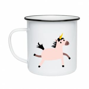 Enameled mug Golden Horn Unicorn