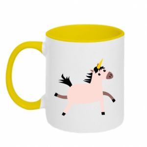 Two-toned mug Golden Horn Unicorn