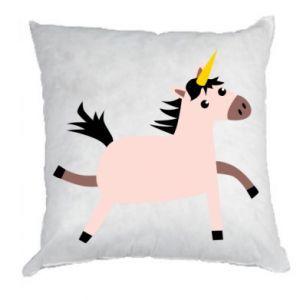 Pillow Golden Horn Unicorn
