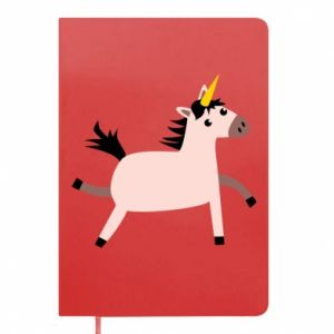 Notepad Golden Horn Unicorn