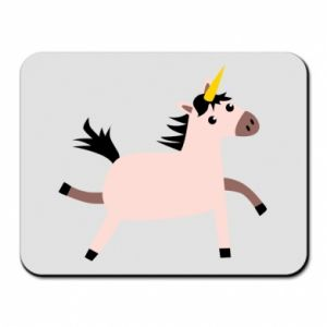 Mouse pad Golden Horn Unicorn