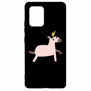 Samsung S10 Lite Case Golden Horn Unicorn