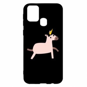 Samsung M31 Case Golden Horn Unicorn