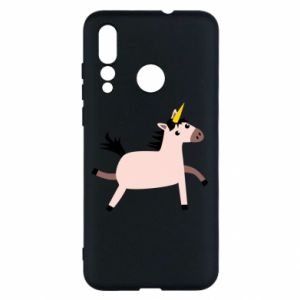 Huawei Nova 4 Case Golden Horn Unicorn