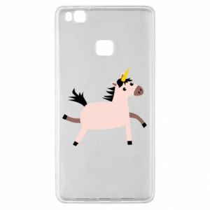 Huawei P9 Lite Case Golden Horn Unicorn