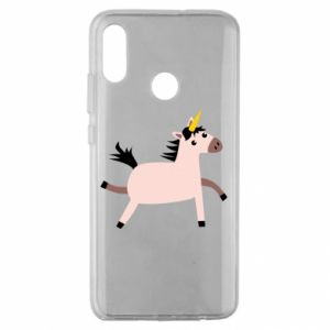 Huawei Honor 10 Lite Case Golden Horn Unicorn