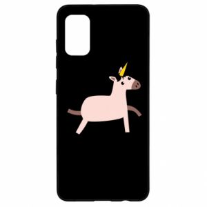 Samsung A41 Case Golden Horn Unicorn