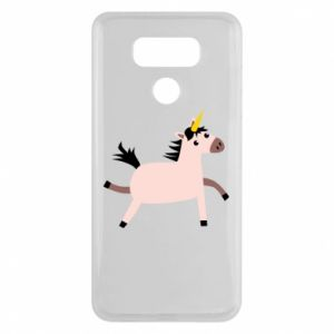 LG G6 Case Golden Horn Unicorn