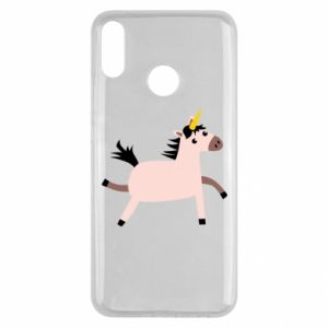 Huawei Y9 2019 Case Golden Horn Unicorn