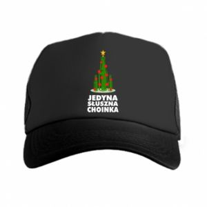 Trucker hat The only right tree