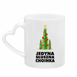 Mug with heart shaped handle The only right tree