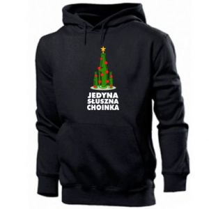 Men's hoodie The only right tree