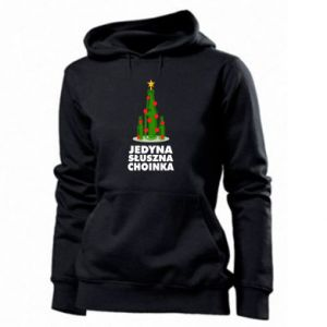 Women's hoodies The only right tree