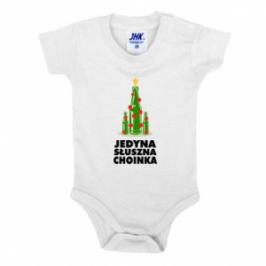 Baby bodysuit The only right tree