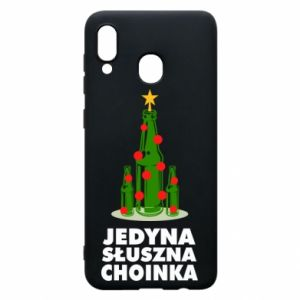 Samsung A20 Case The only right tree