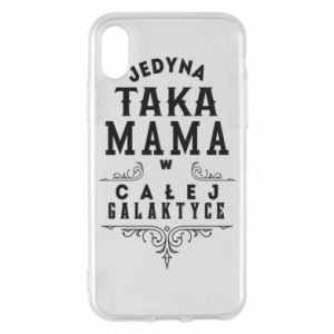 Phone case for iPhone X/Xs The only such mother