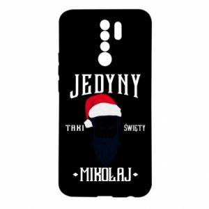 Etui na Xiaomi Redmi 9 Jedyny taki Święty Mikołaj