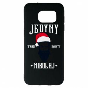 Etui na Samsung S7 EDGE Jedyny taki Święty Mikołaj