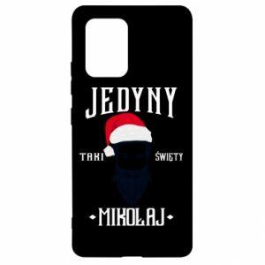 Etui na Samsung S10 Lite Jedyny taki Święty Mikołaj