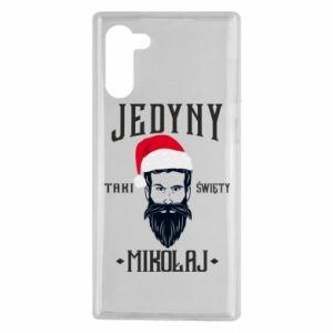 Etui na Samsung Note 10 Jedyny taki Święty Mikołaj