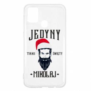 Etui na Samsung M31 Jedyny taki Święty Mikołaj
