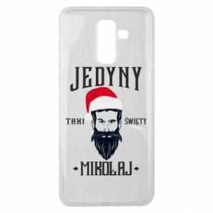 Etui na Samsung J8 2018 Jedyny taki Święty Mikołaj