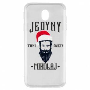 Etui na Samsung J7 2017 Jedyny taki Święty Mikołaj