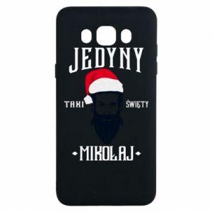 Etui na Samsung J7 2016 Jedyny taki Święty Mikołaj