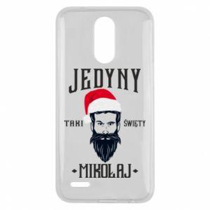 Etui na Lg K10 2017 Jedyny taki Święty Mikołaj