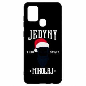Etui na Samsung A21s Jedyny taki Święty Mikołaj