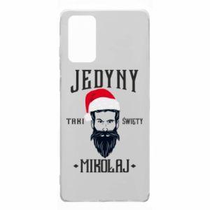 Etui na Samsung Note 20 Jedyny taki Święty Mikołaj