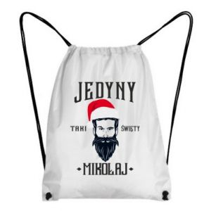 Plecak-worek Jedyny taki Święty Mikołaj