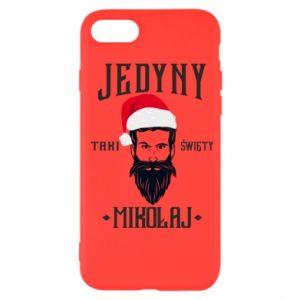 Etui na iPhone 7 Jedyny taki Święty Mikołaj