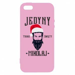 Etui na iPhone 5/5S/SE Jedyny taki Święty Mikołaj