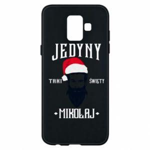 Etui na Samsung A6 2018 Jedyny taki Święty Mikołaj